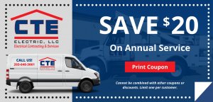 CTE Annual Service Coupon - save $20